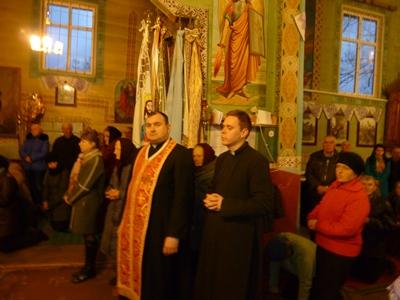 Молитовний візит семінаристів до Делятина